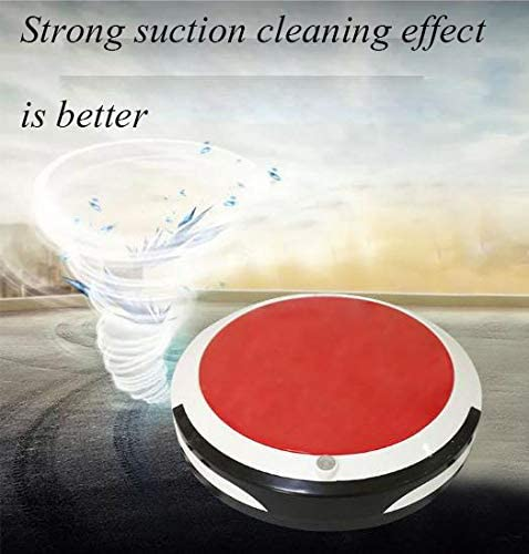 Aspirateur Domestique Automatique Haut Robot Aspirateur Accueil Aspirateur Sol en Bois Tapis Balayer Pet Fur Clean Red