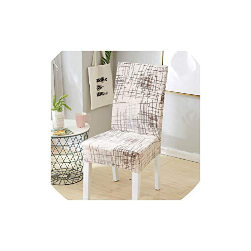 pleasantlyday Elastic Stretch Dining Chair Covers Floral Printing Flexible Removable Slipcover,Color 18,2pcs Chair Covers (Near Furniture Me Repair Patio)