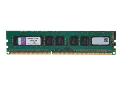 7 opinioni per Kingston Technology ValueRAM KVR16E11/8 8GB DDR3 1600MHz Data Integrity Check
