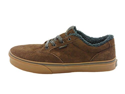 Vans , Chaussures de ville à lacets pour garçon