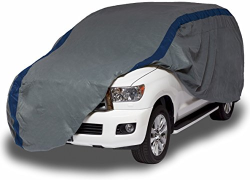 "Duck Covers A3SUV210 Weather Defender SUV Cover for SUVs/Pickup Trucks with Shell or Bed Cap up to 17' 5"" Duck Covers SUV Covers"