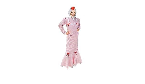 Disfraz Chulapa Mujer Blanco Lunar Rojo (M): Amazon.es: Juguetes y juegos