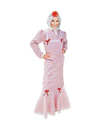 Disfraz Chulapa Mujer Blanco Lunar Rojo (M): Amazon.es ...