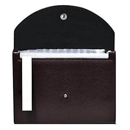 FHEAL Expanding File Folders 5 Pockets Plastic Expandable File Jackets A4 Letter Size,4 Color Accordion Folder Document Holder for School Office Travel