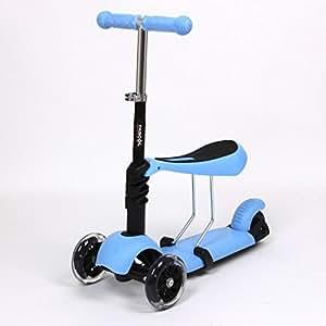 fascol Scooters Tabla para cortar T-Bar Patinete 3 ruedas ...