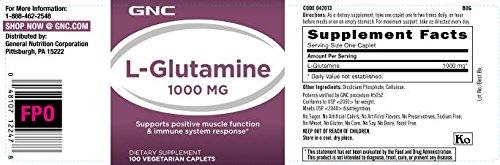 GNC L Glutamine 1000 MG