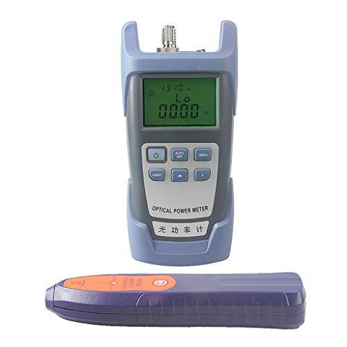 SM SunniMix -70dBm~+10dBm 850~1625nm Optical Power Meter Tester FC SC Handheld Optical Power Meter + with 30mW Visual Fault Locator Pen Tools by SM SunniMix (Image #5)
