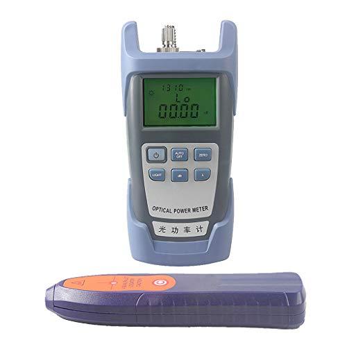 SM SunniMix A Set -70dBm~+10dBm 850~1625nm Optical Power Meter Tester FC SC Handheld Optical Power Meter + 1mW Visual Fault Locator Pen by SM SunniMix (Image #5)