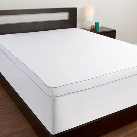 Comfort Revolution Full Mattress Topper Protective Cover Bed