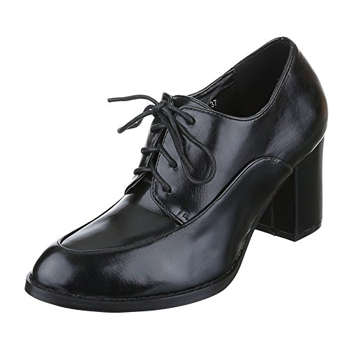 Ital-Design WoMen Chelsea Boots Black