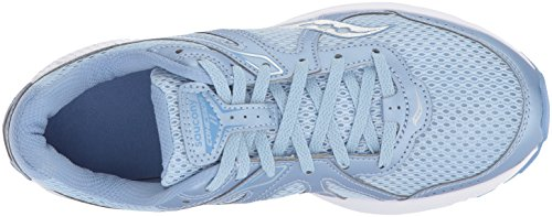 Saucony Mujeres Cohesion 11 Running Shoe Fog / Blue
