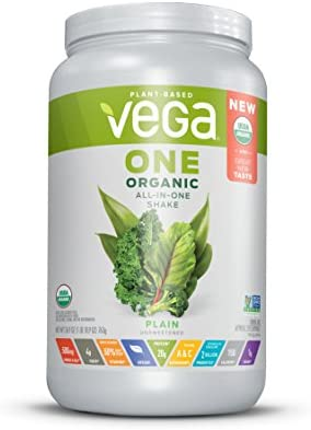 Vega Organic Shake Unsweetened Servings product image