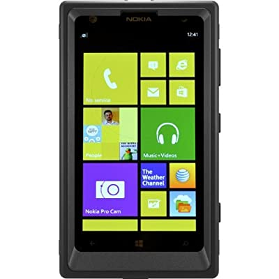 OtterBox Defender Series Case with Holster Clip for Nokia Lumia 1020 - AT&T Retail Packaging - Black from Defender Case