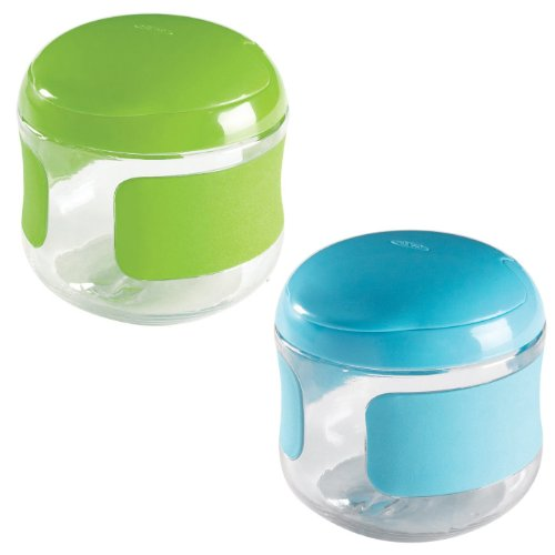 OXO Flip Top Snack Pack Green