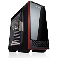 IN WIN 503 BLACK SECC ATX Mid Tower Computer Case Chassis and USB 3.0 (Black)