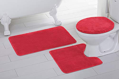 How to find the best bathroom rugs orange red for 2020?