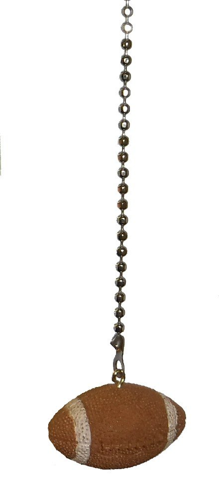 WeeZ Industries Sports theme ceiling FAN PULL light chain extension (football)