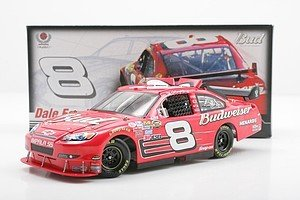 Cot Paint - 2007 Dale Earnhardt Jr #8 Impala SS COT Budweiser Car of Tomorrow Dale's Only Red Budweiser COT Paint Scheme Hood Opens, Trunk Opens HOTO Motorsports Authentics (AKA Action Racing) Driver's Select Adult Collectible Limited Edition