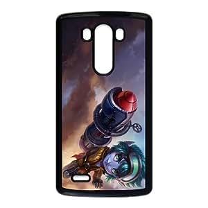 LG G3 Cell Phone Case Black League of Legends Rocket Girl Tristana Odboj
