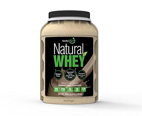 Bodylogix Natural Whey Nutrition protéiné, chocolat noir naturel, 1,85 livre