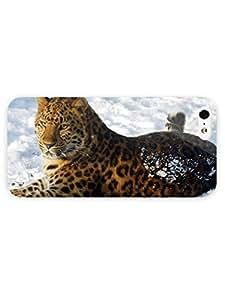 3d Full Wrap Case for iPhone 5/5s Animal Amur Leopard