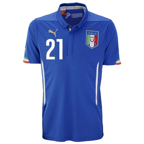 Jersey Puma Pirlo 21 ym Italy Home PPIOwpqZ