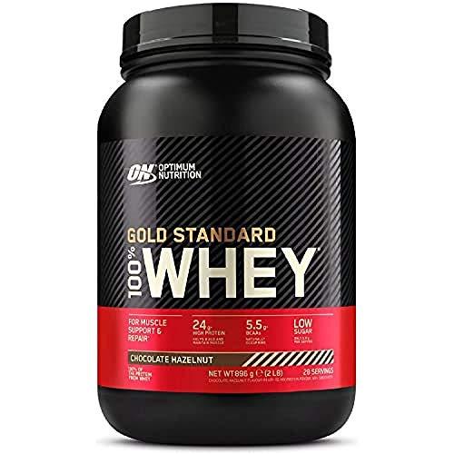 Optimum Nutrition 100% Whey Gold Standard,Chocolate Hazelnut,2lb (0.9 kg)