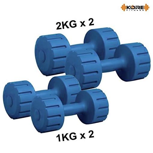 Kore K-DM-1Kg +2Kg-Combo 161 Dumbbells Set