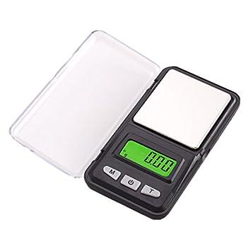 Lzndeal 500 G/0.01g Báscula de bolsillo digital portátil Mini escala joyas escala LCD pantalla para oro cocina grano escala gramo: Amazon.es: Hogar