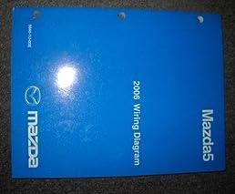 2006 mazda5 mazda 5 electrical wiring service manual mazda amazon rh amazon com  2006 mazda 5 stereo wiring diagram