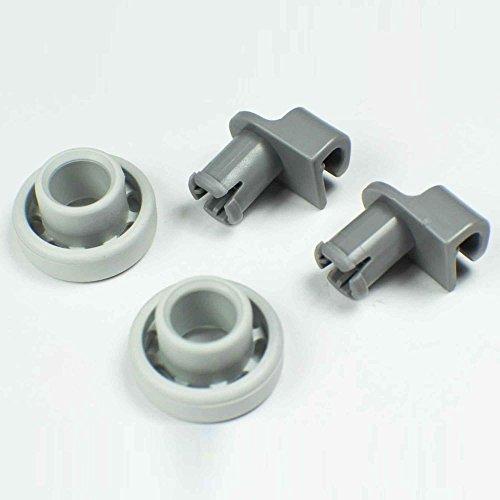 Price comparison product image Genuine Bosch Dishwasher Upper Basket Wheels 424717