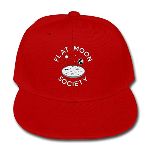 Red Hat Society Shoes - Baotouhui Children Flat Moon Society Baseball Caps Red
