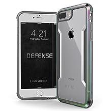 iPhone 6 Plus, 7 Plus, 8 Plus Case, X-Doria Defense Shield Series - Military Grade Drop Tested, Anodized Aluminum, TPU, Case for Apple iPhone 6 Plus, iPhone 7 Plus & iPhone 8 Plus [Iridescent]