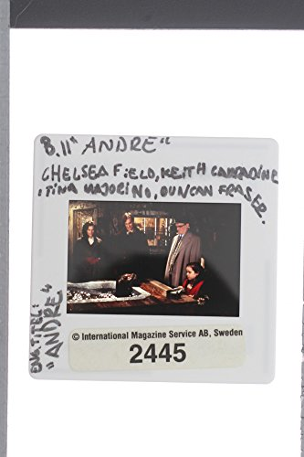 Slides photo of Chelsea Meadow, Keith Carradine, Duncan Fraser and Tina Majorino stars in Andre.