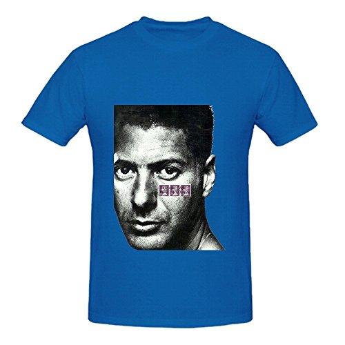 Etienne Daho Paris Ailleurs Tour Greatest Hits Men Crew Neck Music Tee Shirts Blue