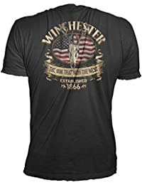 Southern Rebel Skull Men's Graphic T-Shirt in Premium Edition Super Soft Tee - Clearance Sale!