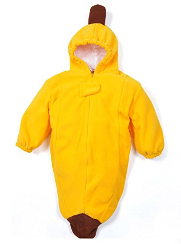 [Unisex-baby Banana/Pea/Caterpillar Bunting Costume Sleeping Bag Romper Swaddl...] (Banana Bunting Costumes)