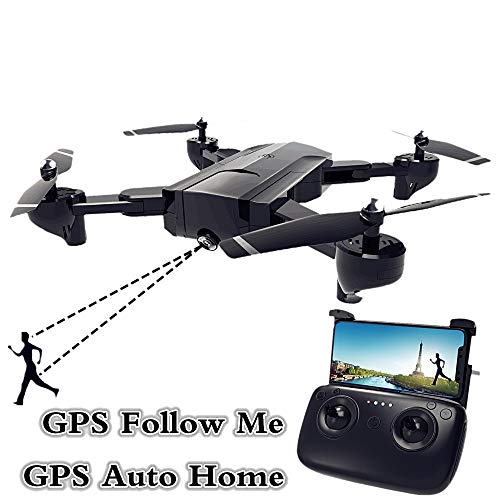DZSM Quadcopter, Four-axis RC Airplane Adult Aerial Camera Helicopter Drone Remote Control HD Professional Long-Life Intelligent Aircraft ()