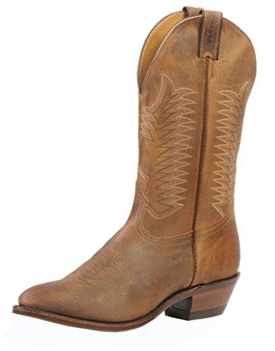 Boulet Vestlige Støvler Menns Cowboy Skinn 11 5e Hill Billy Golden 1828