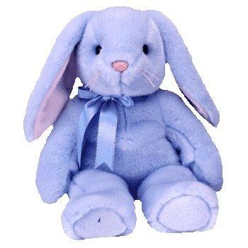 Amazon.com  Beanie Buddies Flippity the Blue Bunny Rabbit - Ty  Toys ... b031b4d78b8