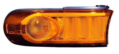 Go-Parts - OE Replacement for 2007-2011 Toyota FJ Cruiser Turn Signal Light Assembly/Lens Cover - Front Left (Driver) Side 81171-35440 TO2530149 Replacement For Toyota FJ Cruiser (Cover Fj Turn Cruiser Signal)