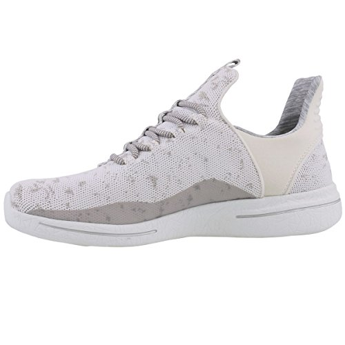 New 0 Avenues gray Skechers 2 Sneaker 12656 wgy Donna Burst White 1acayBWF