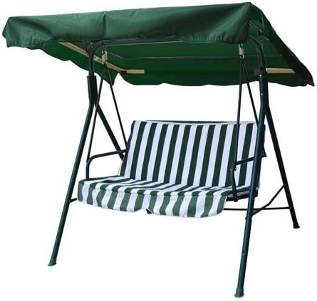Outdoor Patio Swing Canopy Replacement 6.25' Foot Hunter Green