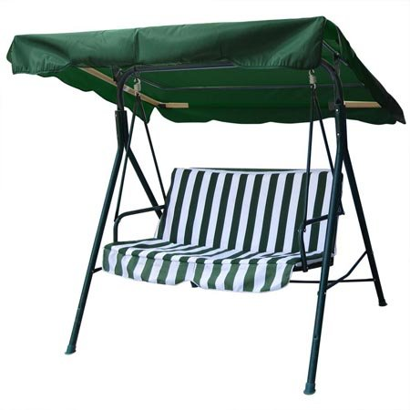 (Outdoor Patio Swing Canopy Replacement 6.25' Foot Hunter Green)