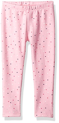 Gymboree Toddler Girls' Warm and Fuzzy Leggings, Tickle Me Pink, 3T by Gymboree
