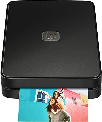 Lifeprint 2x3 Portable Photo AND Video Printer for iPhone and Android. Make Your Photos Come To Life w/ Augmented Reality - Black