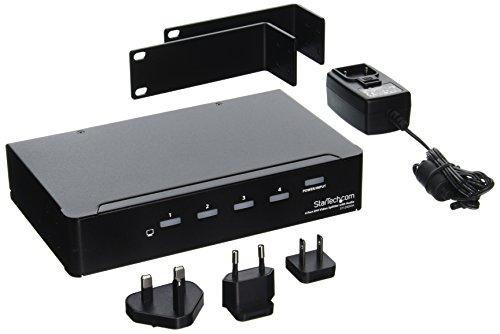 StarTech com ST124DVIA 4 Port Video Splitter