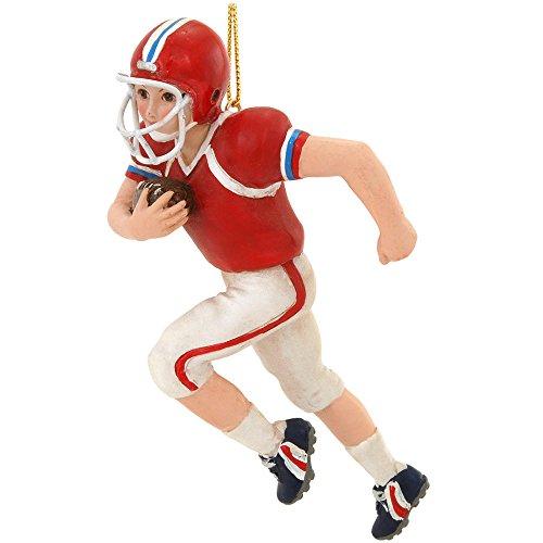 Football Player Christmas Ornaments - 2