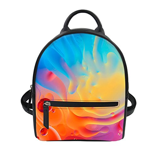 Advocator - Bolso mochila para mujer, Color-1 (Morado) - Advocator packable backpack Color-4