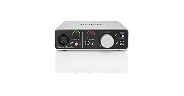 Amazon.com: Focusrite solo iTRACK Interfaz de audio USB ...